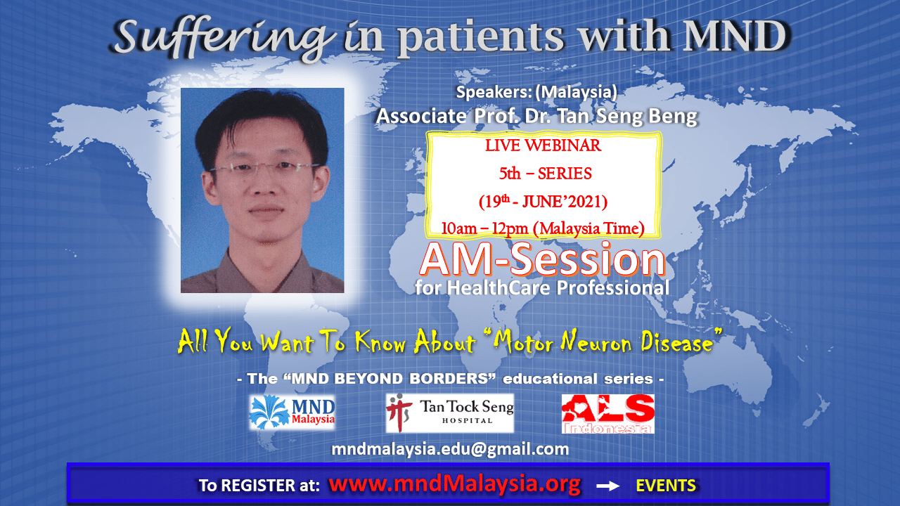 Topic: Suffering in patients with MND