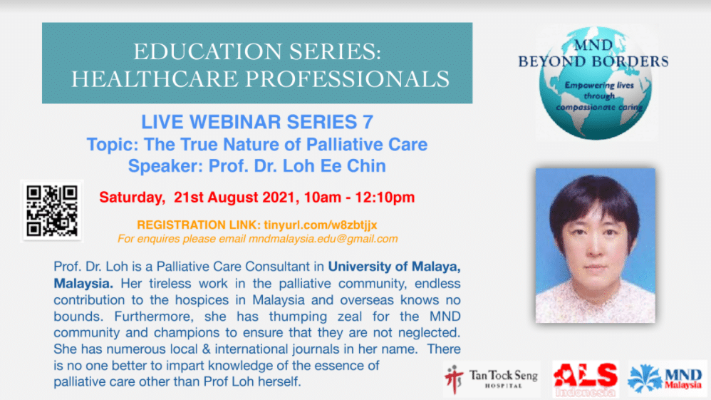 (Morning) AM-Session for HealthCare Professional (HCP) @ 10am-12:10pm